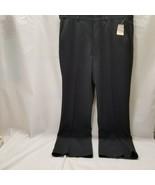 "All Seasons Comfort Action Men's Dress Pants size 34"" Waist, Black New w... - $19.79"