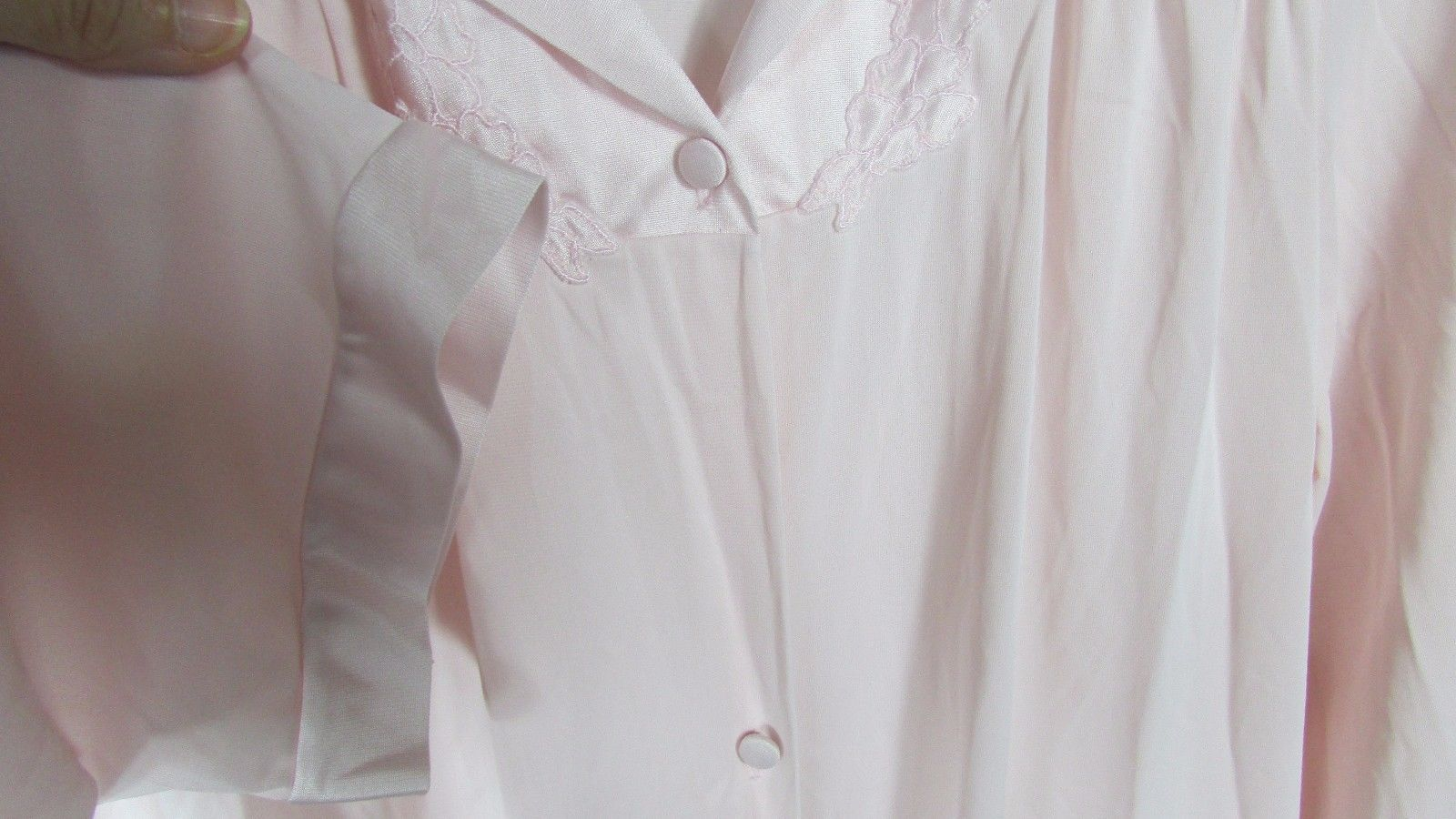 Vanity Fair nylon Long Robe or button down and 10 similar items