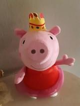 "Peppa Pig Talking Ballerina Plush 13"" Many Phrases Fisher Price Talking & Music - $14.85"