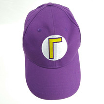 Super Mario Brothers Purple Strapback Hat Baseball Cap - $10.84