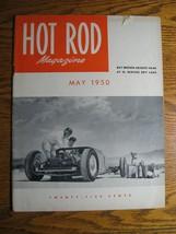 May 1950 Hot Rod Magazine, Racing El Mirage, Ray Brown, 1939 Ford Conver... - $48.51