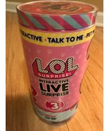 LOL Surprise! Interactive Live Pet LOL  Realistic Sounds MGA Factory Sealed - $23.76