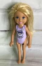2015 Mattel Chelsea Doll Sister of Barbie Blonde Hair With Purple Sheep ... - $19.79