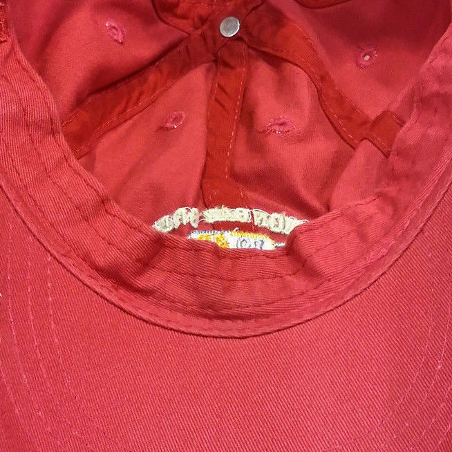 be4a12cb9 Unionbay Crew USA 1981 Authentic Youth Kids Boys Red Hat Baseball Cap VTG