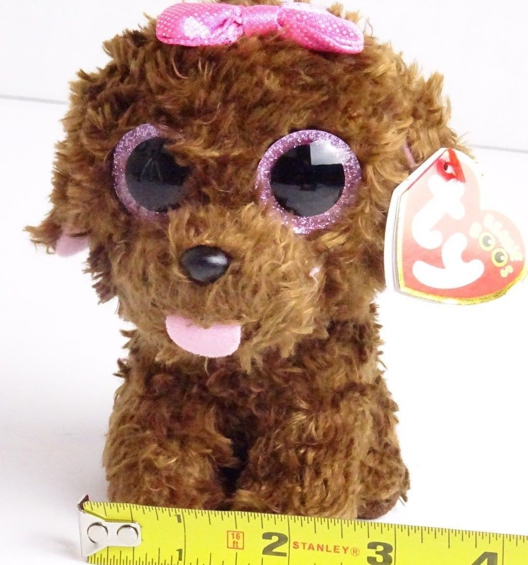 7c287f1aa0f 57. 57. Previous. TY Beanie Boo MADDIE the Brown Dog Plush Stuffed with  heart tags Animal Toy · TY Beanie ...