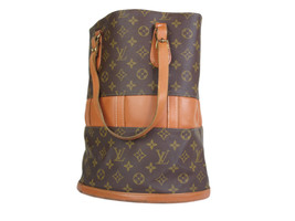 Auth Louis Vuitton Vintage Bucket Monogram Canvas Shoulder Bag LB17425L - $298.00