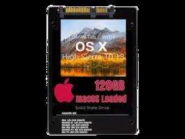 macOS Mac OS X 10.13 High Sierra Preloaded on 120GB Solid State Drive - $39.99