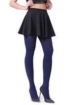 Fitrell Opaque Tights For Women Fashion Control Top Pantyhose 1 Pairs, N... - $11.33