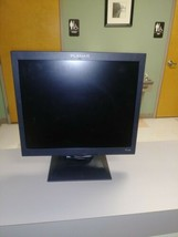 Planar 17in Color Flat Screen Monitor LCD 100-240V PL1700-BK - $54.23