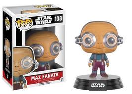 Star Wars The Force Awakens Maz Kanata Vinyl Pop Figure Toy #108 Funko New Nib - $7.84