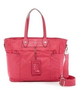 NWT Marc By Marc Jacobs Pink Preppy Nylon Eliz-A-Baby Diaper Bag Tote New - $198.00