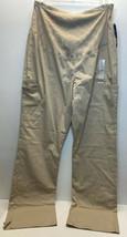 Beige Tan Cherokee Scrubs Workwear Professionals Maternity Pant WW220T XL Tall - $22.44