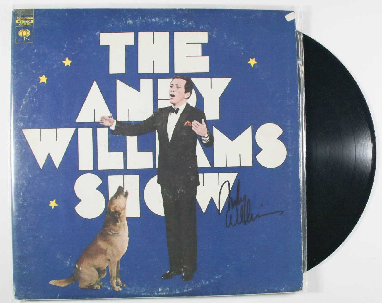"Primary image for Andy Williams (d. 2012) Signed Autographed ""The Andy Williams Show"" Record Album"