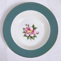 Homer Laughlin Century Service Empire Green Semi Vit Soup Bowl Alliance Ohio - $11.75