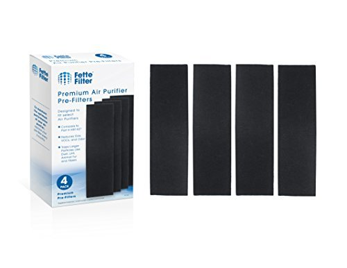 Fette Filter 4-Pack Pre-Filter Compatible with Honeywell HRF-K2 Household Odor &