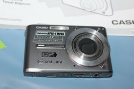 Casio Exilim SD Exit Print EX5500 5.0 Mega Pixel Digital Camera - $29.69