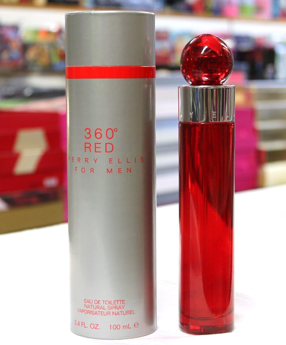 Primary image for 360 Red by Perry Ellis for Men 3.4 fl.oz / 100 ml Eau De Toilette spray