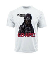 Planet of Apes Go Ape Dri Fit graphic T shirt moisture wicking retro Sun Shirt image 2