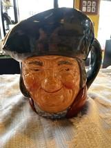 Vintage Royal Doulton Toby Philpots Large Character Jug 1960s - $55.17