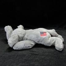 TY Original Beanie Buddy Righty the Gray Elephant Grey Tag Protector  - $19.99