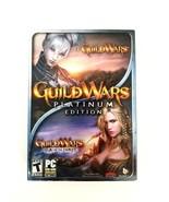Guild Wars: Platinum Edition (PC, 2008) & Guild Wars Eye of the North Ex... - $26.14