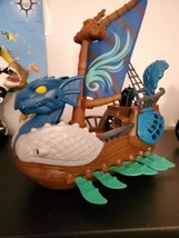 Fisher Price Imaginext Serpent Pirate Ship Dragon World kids toys kids C... - $39.59