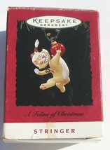 "Hallmark Keepsake Ornament Feline of Christmas Cat MINT in Box Cute 3"" S... - $10.79"