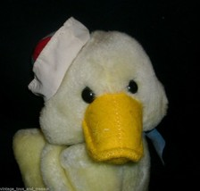 "9"" VINTAGE 1987 COMMONWEALTH YELLOW DUCK STUFFED ANIMAL PLUSH TOY CHICKEN CHICK image 2"