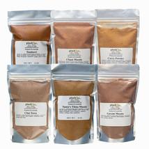 Indian Masala Bundle Deluxe 6 Pack: Curry, Tikka, Tandoori, Chaat, Chai ... - $52.46