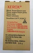 Genuine Xerox 6R00856 6R856 Black Toner Cartridge DocuPrint C55 NC60 New... - $18.56