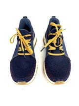 Adidas PureBOOST X Women's 7 Running Training Shoes Dark Blue Gold Yellow - $59.23