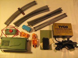 Lot of  HO Scale Track CARS Switches TYCO 899B Transformer Prestomatic [... - $27.07