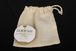 Handmade Natural Organic Loofah Glycerine Bathing Soap With Muslin Saver... - $5.93