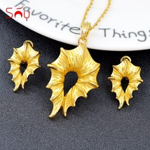 Sunny Jewelry Trendy Jewelry Set For Women Earrings Necklace Pendant Hot Selling - $21.57