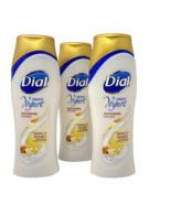 Dial Lot/3 GREEK YOGURT Moisturizing Body Wash Vanilla Honey 16 fl oz ea... - $49.95