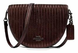 Coach Ellen Crossbody Bag With Linear Quilting