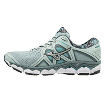 Mizuno WAVE SKY 2 Women's Running Shoes Gray Marathon Jogging NWT J1GD180204 - $119.61
