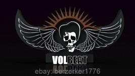 Volbeat Skull Wings 3'x5' flag banner heavy metal rock - USA Seller Shipper - $25.00