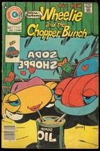 WHEELIE AND THE CHOPPER BUNCH #4 1976-CHARLTON COMICS G/VG - $25.22
