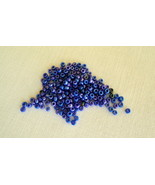1 Package of 800 Craft & Sewing Cobalt Blue Seed Beads -Free Shipping - $3.50