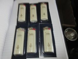 Satin Cigarette Lighters , Vintage , New/Old Inventory ,  Lot of 6 - $49.50