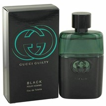 Gucci Guilty Black by Gucci Eau De Toilette Spray 1.6 oz for Men - $58.36