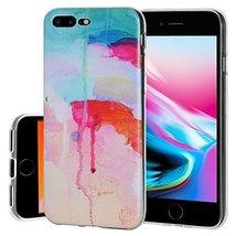iPhone 8 Plus, Stylish Designer Flexible Soft Gel Premium TPU Graphic Sk... - $8.86