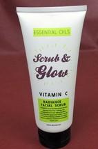 ESSENTIAL OILS Scrub & Glow VITAMIN C RADIANCE FACIAL SCRUB 200 ml New, ... - $17.90