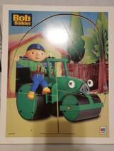 M2 Milton Bradlet 2002 Hasbro Bob The Builder Wood Puzzle - $16.82