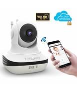 WiFi Surveillance Pan/Tilt Security Camera 2-Way Audio Night Vision Baby... - $34.60
