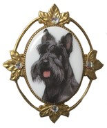 Vintage Scotty Scottie Dog Terrier Brooch Pin - $57.01