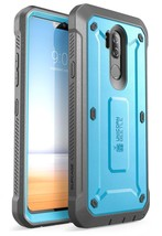 LG G7 ThinQ Case, SUPCASE Unicorn Beetle PRO Series with Holster (Blue) - $21.99