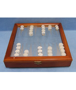 Backgammon Mirror Board Game with Pieces - $11.87