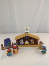 9 Piece Fisher Price Little People Nativity Manger Creche & Figures Toy Set - $18.69